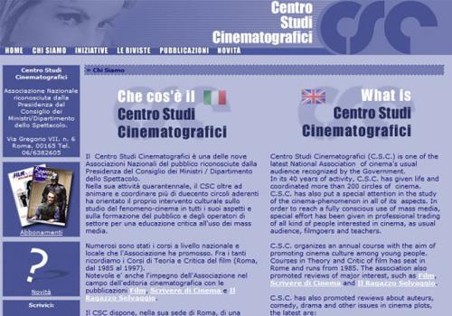 Portfolio Starfarm Internet Communications srl - Centro Studi Cinematografici- Roma