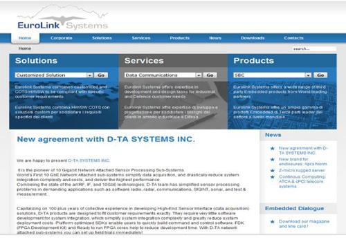 Portfolio Starfarm Internet Communications srl - Eurolink System