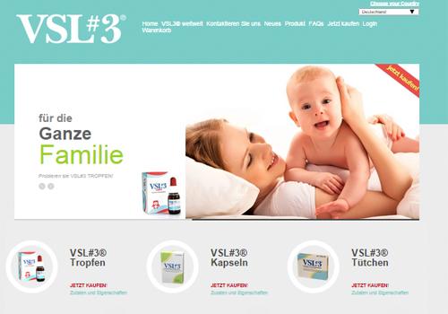 Portfolio Starfarm Internet Communications srl - Probiotico VSL#3