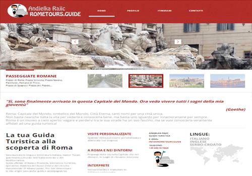 Portfolio Starfarm Internet Communications srl - Andjelka Rajic - guida turistica Roma